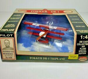 Model Power Fokker DR-1 WW1 Triplane Manfred Von Richthofen No 6430 New Die-Cast