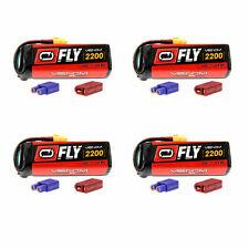 Venom Fly 30C 4S 2200mAh 14.8V LiPo Battery with UNI 2.0 Plug x4 Packs
