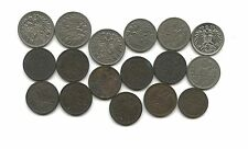 Austrian 1800s and early 1900s  17 coins, great details NICE GROUP
