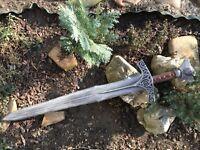 Skyforge Steel sword Skyrim Inspired TES V Elder Scrolls props cosplay weapons