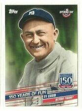 2019 Topps Opening Day 150 Years of Fun #YOF1 Ty Cobb (ref 60617)