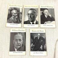 1950 Vintage Belgian Libri Dutch Letteratura Willem Elsschot Herman Teirlinck