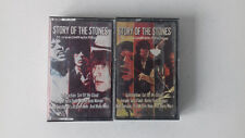 THE ROLLING STONES   STORY OF THE STONES PARTS 1 & 2   DOUBLE CASSETTE TAPE