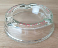 Players Please Vintage 1960's Ashtray clear and glass over 6 inches diameter