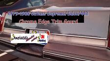 1979-1988 CUTLASS SUPREME SALON  442 CHROME TRUNK EDGE TRIM NEW