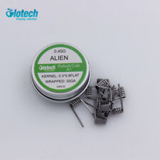 Glotech Alien clapton prebuilt coil heating wire coil DIY for RDA RBA RTA vape