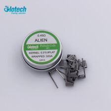 1 box Alien clapton prebuilt coil heating wire coil DIY for RDA RBA RTA vape