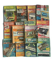 More details for practical wireless vintage magazines 1974-1975 electronics collectible bundle