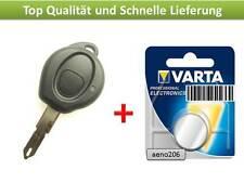 Schlüssel Gehäuse für Peugeot 206 Ersatz 1Taste Key Cle IIave Fernbedienung