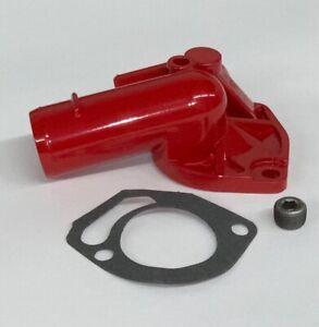 fits Jeep XJ ZJ YJ TJ WJ 4.0L 2.5L Thermostat Housing RED POWDER COAT Cherokee