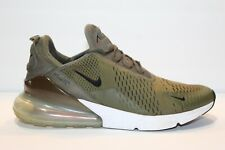 Nike Air Max 270 Men's Running Shoes Size 12 Green White Orange Olive Green