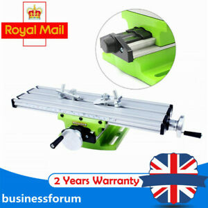 Milling Compound Working Table Cross Sliding Bench Drill Vise Fixture Worktable