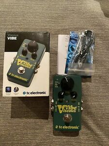 TC Electronic Viscous Vibe Univibe Guitar Pedal