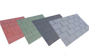 Square Felt Roofing Shingles   Shed Felt Shingles   3m2 per Pack