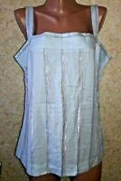 Next Women's Shirt Blouse Tunic Top 88% Cotton 10% Viscose Size 14/42