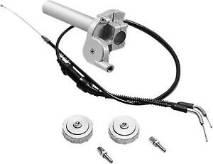 "Banshee 350 Vortex Twist Kit Extended +2"" Longer Cable Throttle Assembly YFZ350"
