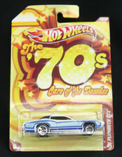 Hot Wheels Cars of the Decades '70s '71 Plymouth GTX 18/32 2011 Mattel New MOC
