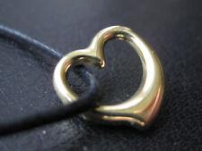 Herzanhänger 333'er Gold kleiner Herz Ketten Anhänger / 037