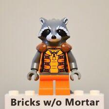 New Genuine LEGO Rocket Raccoon Minifig Marvel Super Heroes 76020