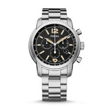 Fossil Swiss FS-5 Series Chronograph Stainless Steel Watch Mens FSW7009