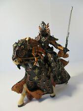 PAPO Fantasy Action Figures DARK SPIDER KNIGHT Warrior Knight & Horse (Retired)