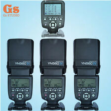 Yongnuo YN560TX LCD Wireless Flash Controller +3pcs YN560 IV Flash kit For Nikon