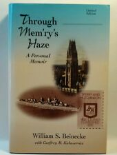 Through Mem'ry's Haze : A Personal Memoir by Geoffrey M. Kabaservice and.(BK37)