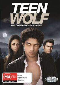 Teen Wolf : Season 1 (DVD, 2012, 3-Disc Set) Dylan O'Brien, Linden Ashby R4
