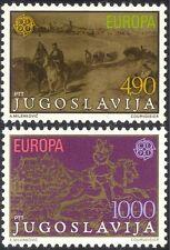 Yugoslavia 1979 Europa/Horses/Transport/Art/Paintings/Artists 2v set (n31048)