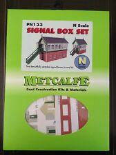 Metcalfe Kit PN133. Signal Box Set.  N Scale.