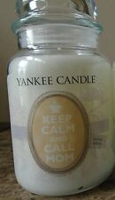 Yankee Candle Chamomile Tea Scent  1 Keep Calm & Call Mom Pink Limited Ed. 2018