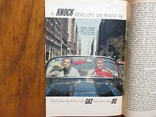 January 25- 1963 TV Guide(MARTIN  MILNER/SANDRA  WARNER/ROUTE 66/GEORGE MAHARIS