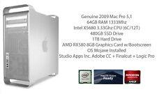 Mac Pro 5,1 2009 | X5680 @ 3.33Ghz | 64GB |  480GB SSD | RX580 8GB | STUDIO 004