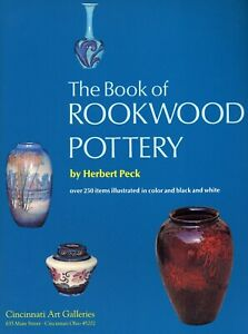 Rookwood Art Pottery - History Designers Marks / Scarce In-Depth Book