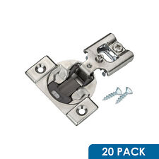 20 Pack Blum Blumotion 38 N Cabinet Hinges 1/2 Overlay Soft Close 38N355B.08