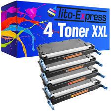 4 Toner XXL ProSerie für HP Color Laserjet Q6470A-Q6473A 3600 3600 DN 3600N 3800