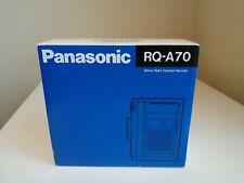 PANASONIC RQ-A70 VINTAGE PERSONAL recording STEREO CASSETTE PLAYER WALKMAN