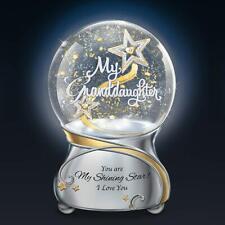 My Granddaughter, You Are My Shining Star Glitter Globe