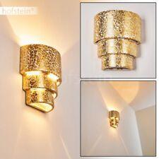 moderne Up Down Wand Lampen Keramik goldfarben Wohn Schlaf Zimmer Flur Leuchten