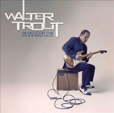 WALTER TROUT - BLUES FOR THE MODERN DAZE USED - VERY GOOD CD