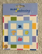 Bloc Embossing Stencil By Kars - Nature -  NEW - METAL - CRAFTS