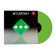 Paul McCartney III 3 Target LP Vinyl Green Limited Edition 1500