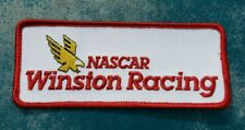 VTG Nascar Winston Racing Sew On Patch Gold Eagle