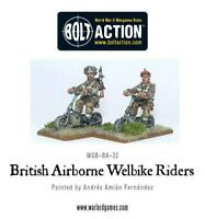Bolt Action British Welbike Team Warlord Games 28mm WW2