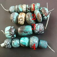 Natural old Turquoise Loose gemstone beads strand,chinese hubei natural stone