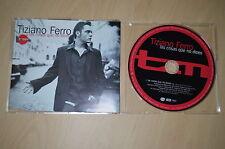 Tiziano Ferro - Las cosas que no dices. 1 track. CD-Single promo