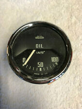 Jaeger Oil Pressure Gauge - Triumph Tr4 and other British models