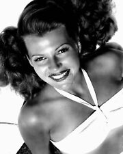 RITA HAYWORTH LEGENDARY ACTRESS - 8X10 PUBLICITY PHOTO (NN-065)