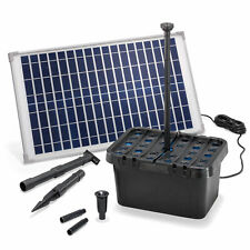 Solar Teichfilter Professional 25W 875 l/h Gartenteich Teichpumpe esotec 100902