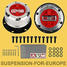 HEAVY DUTY AVM Kit Mozzi Ruota Libera manuali Nissan Terrano II e D21, NUOVO